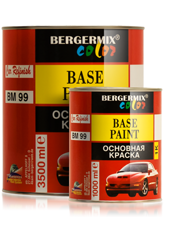 1K Base paint